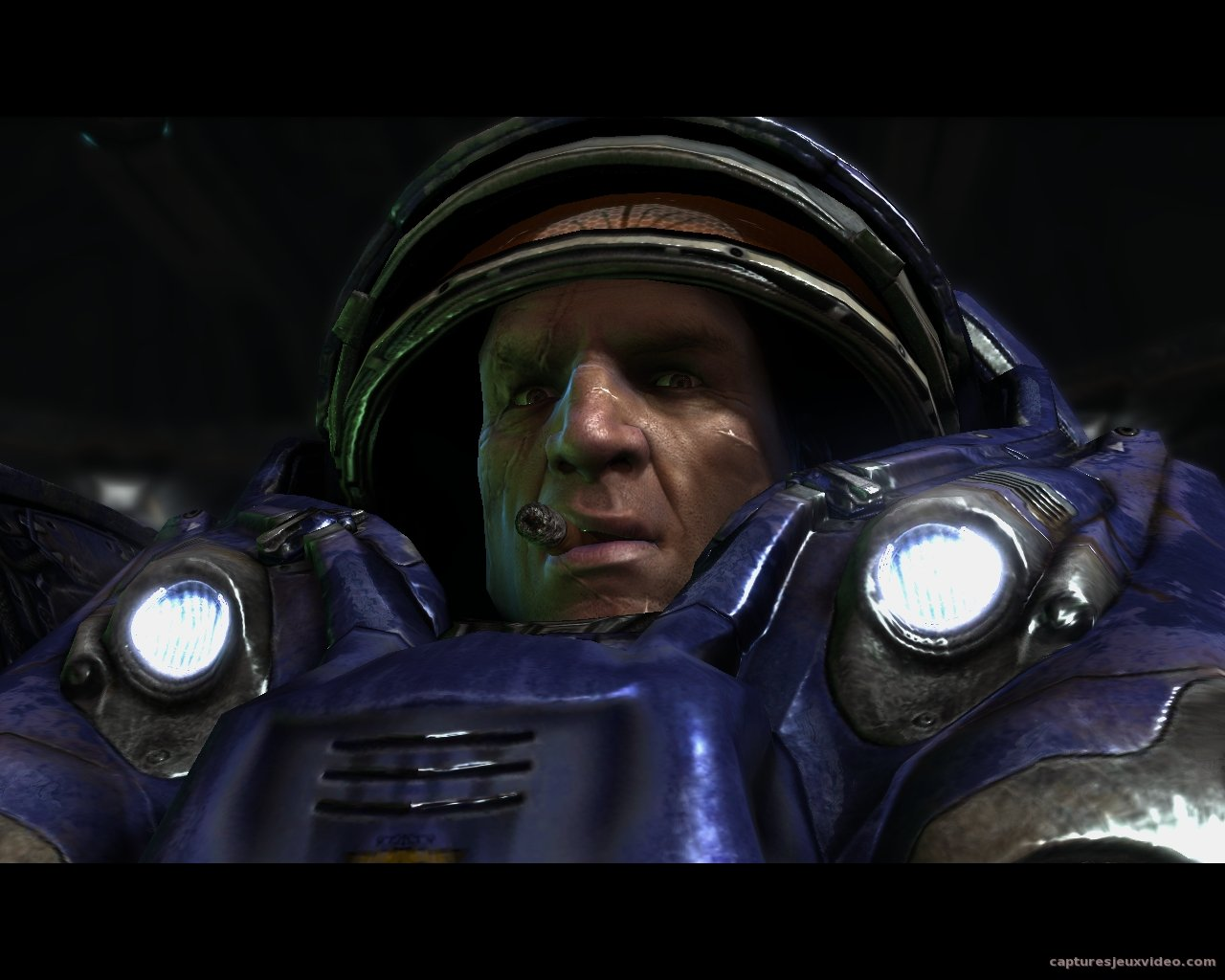 Tychus Findlay, portrait - Starcraft 2 capture ecran 0125