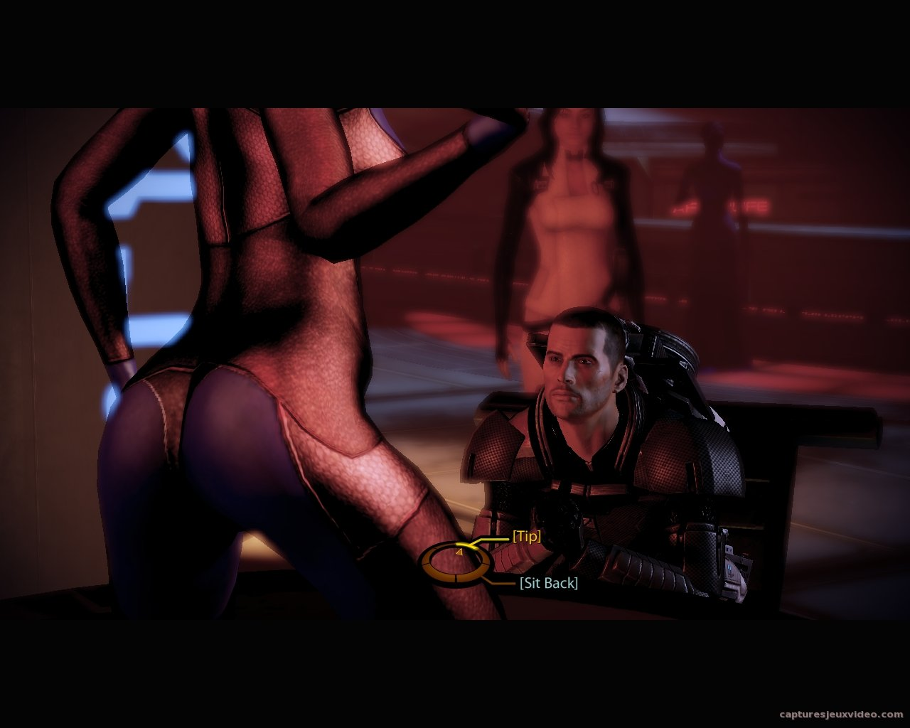 mass effect 2 - séquence hot sexy