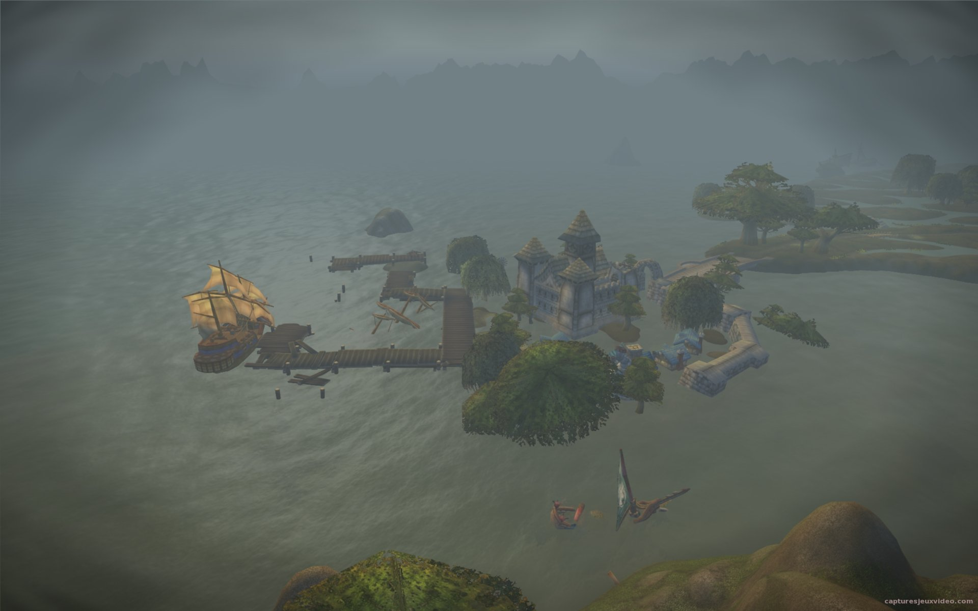 port de menethil world of warcraft cataclysm screenshot wallpaper