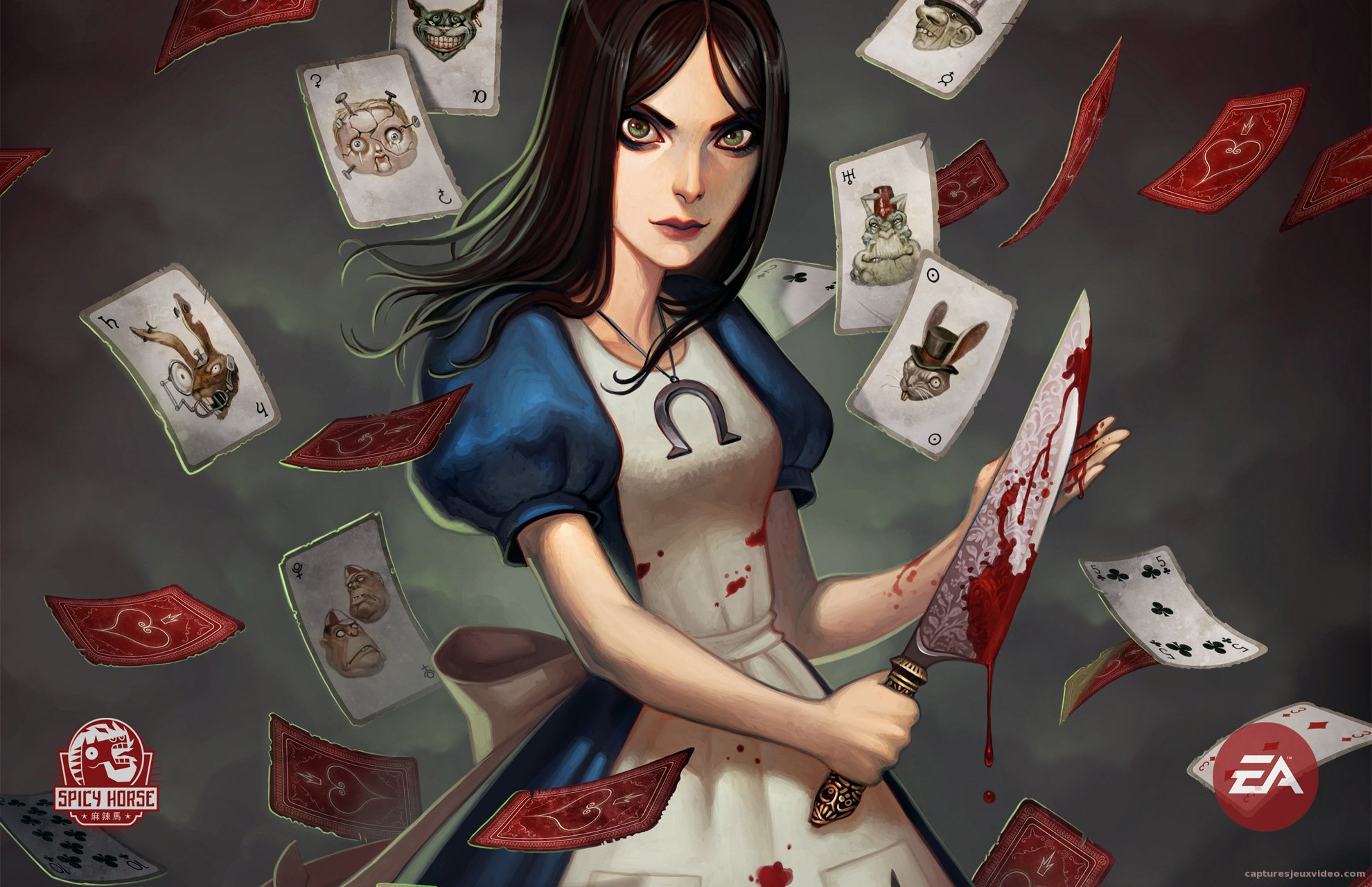 alice madness returns game design art